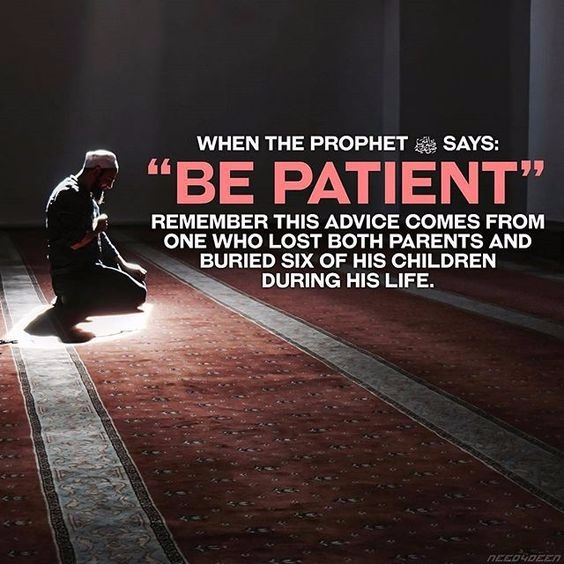 Patient, gainislam, islam, learnislam - gain_islam | ello