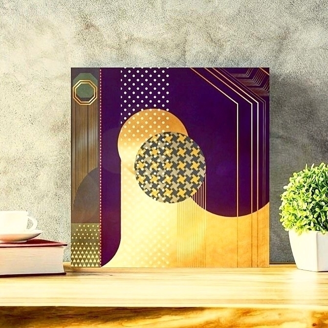 Abstract canvas wall art - abstract - trinkl | ello