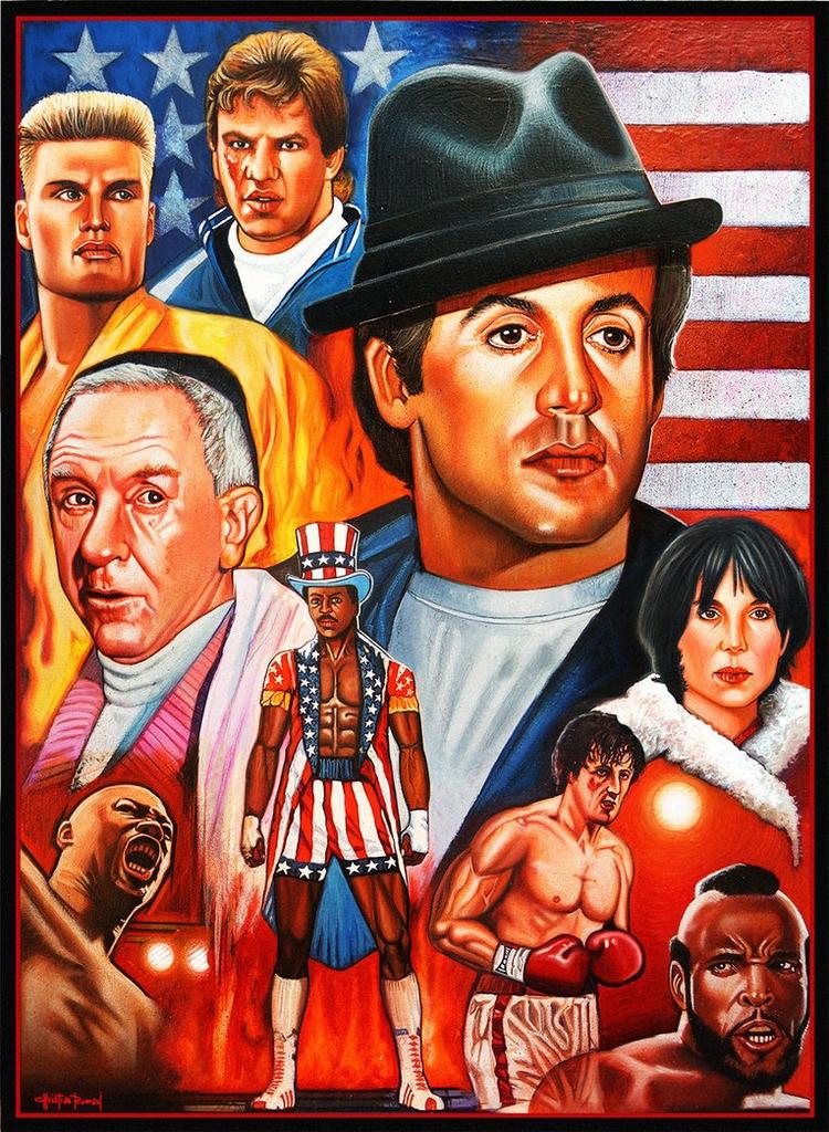 Rocky Balboa Saga Colored Penci - christianromani | ello