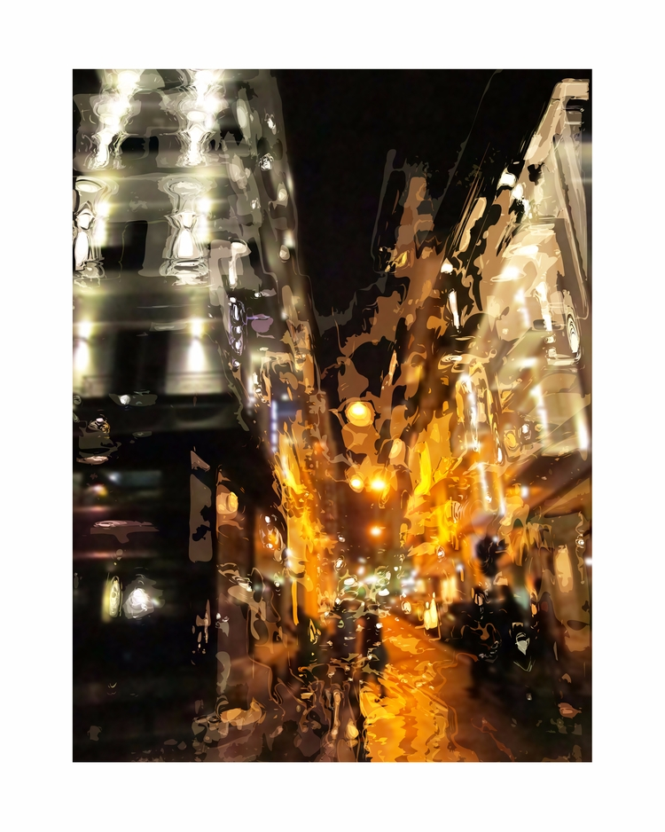 Athens Streetscape - art, contemporaryart - paulsmedberg | ello