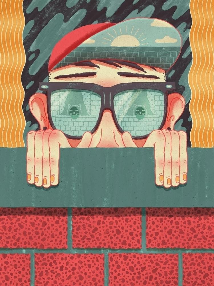 illustration, editorial, editorialillustration - jefflowryillo | ello