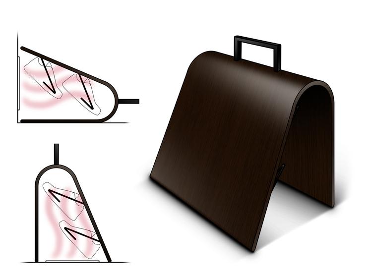 Passive Dryer. Shoe / sock drye - jamesowendesign | ello