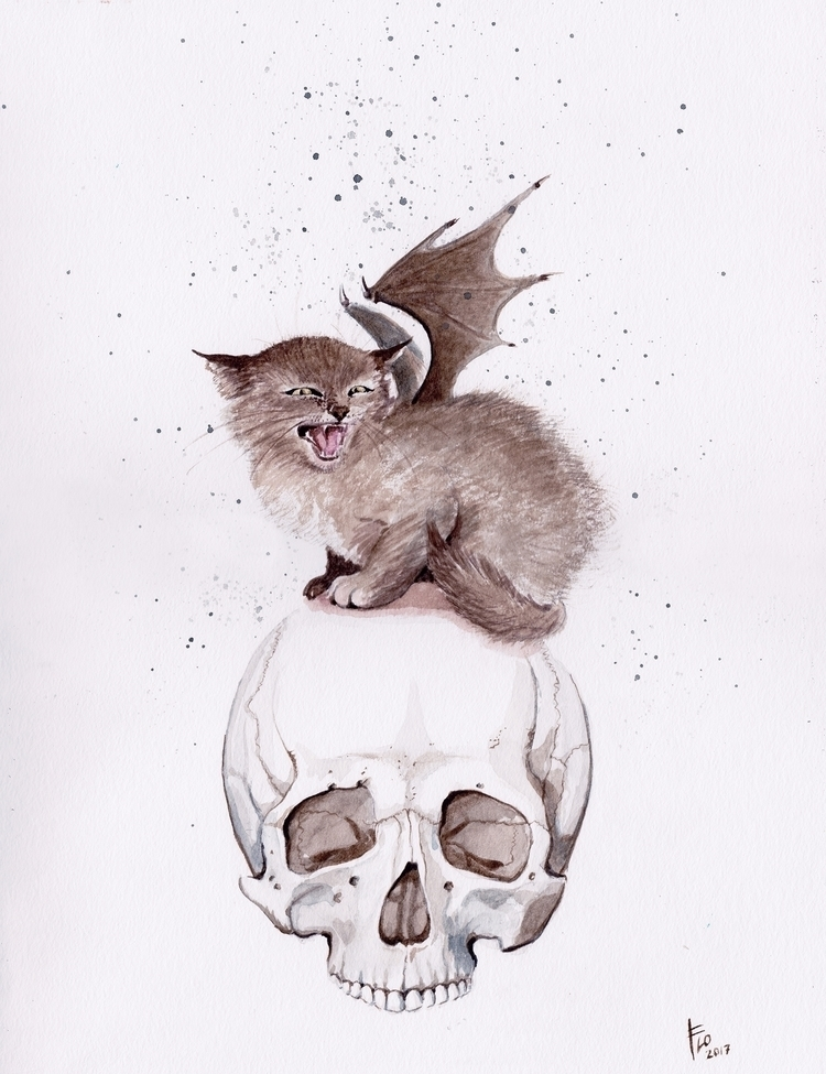 Bat Cat work pop show SALE! Pos - flolmi | ello