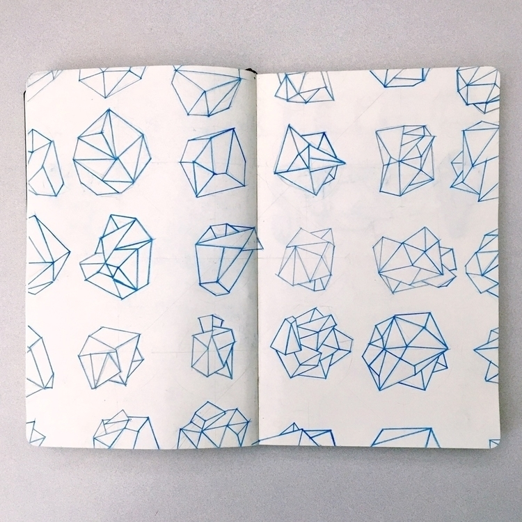 Shape Specimen - sketch, geometric - williamduxbury   ello