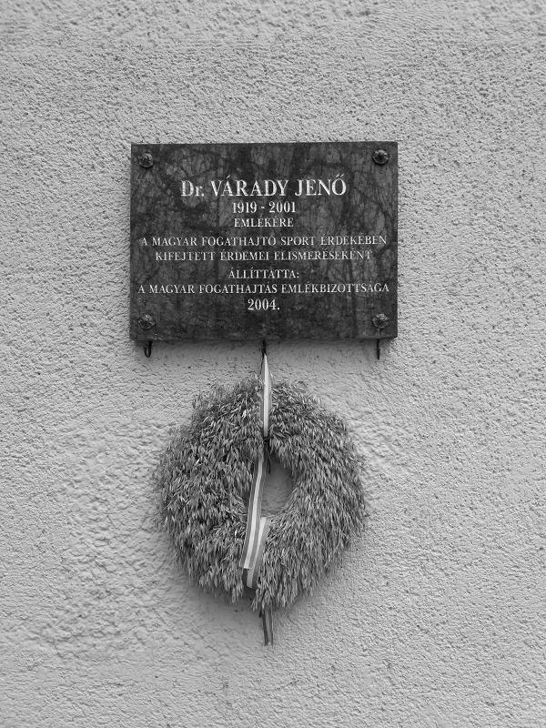 Dr. Várady Jenő emléktábla (Szi - turabazis | ello