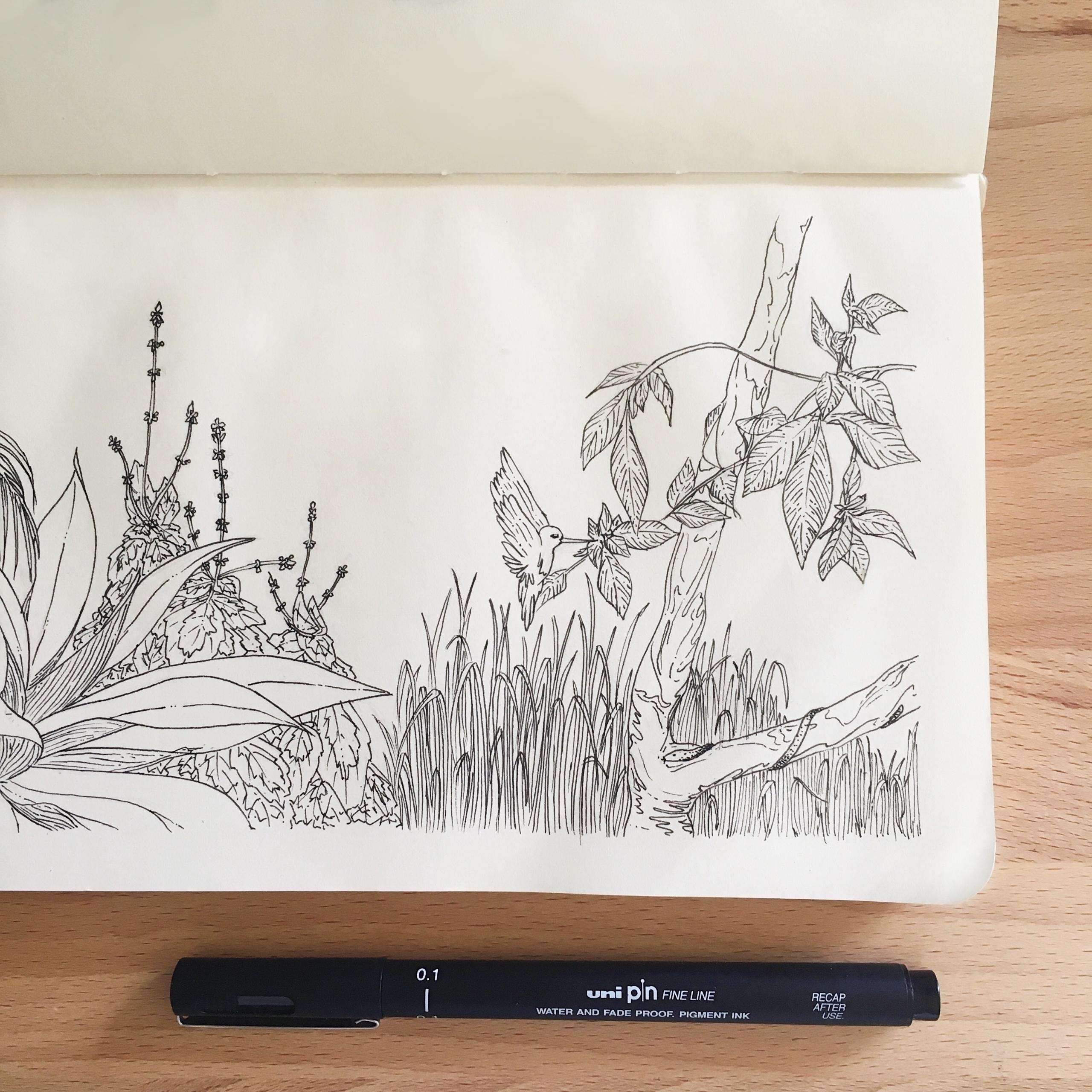 Hidden - illustration, art, design - lilyylin | ello