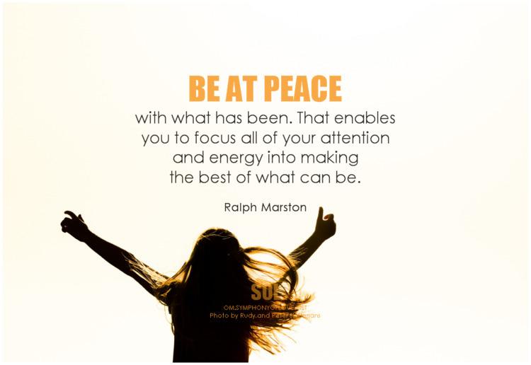 peace enables focus attention e - symphonyoflove | ello