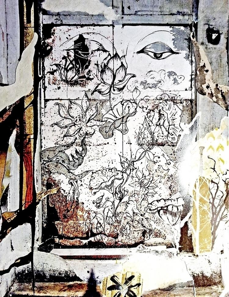 >Concrete Jungle Lotus <  - chitreesign | ello