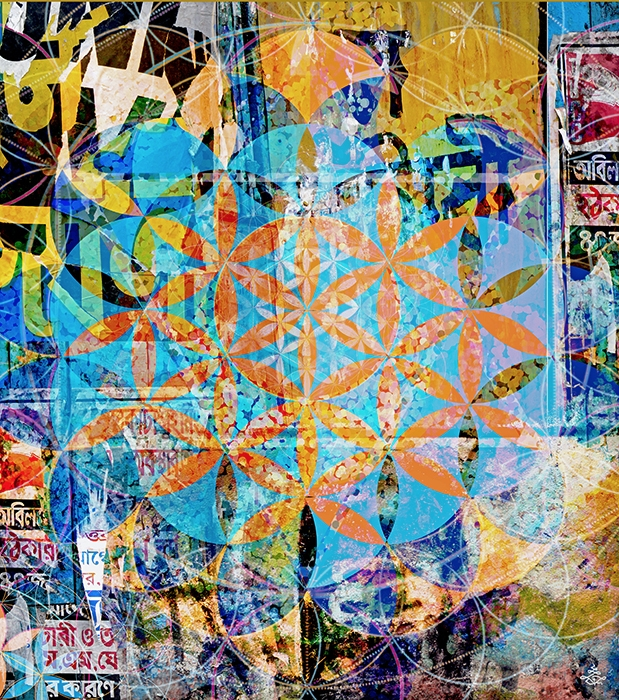 Analog-ital Collages Sacred Geo - chitreesign | ello