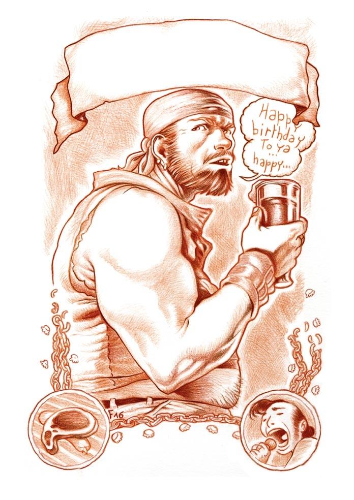 Affiche pour bar - fredgri   ello