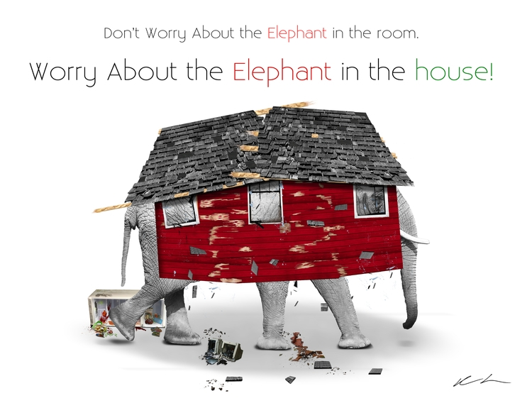 Title: Elephant House Year: 210 - damionismyname | ello