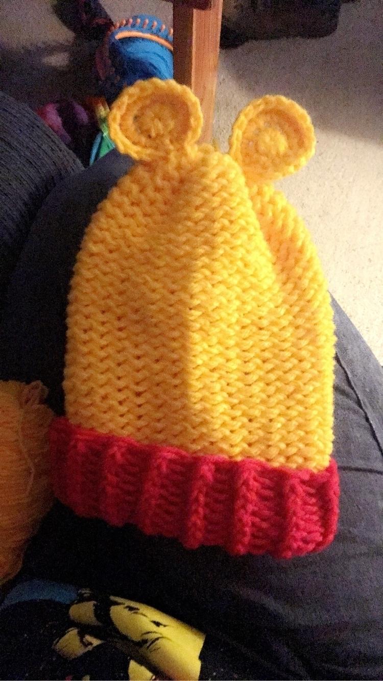 beanie, crochet, handmade, yarn - bodycandybycarlie | ello