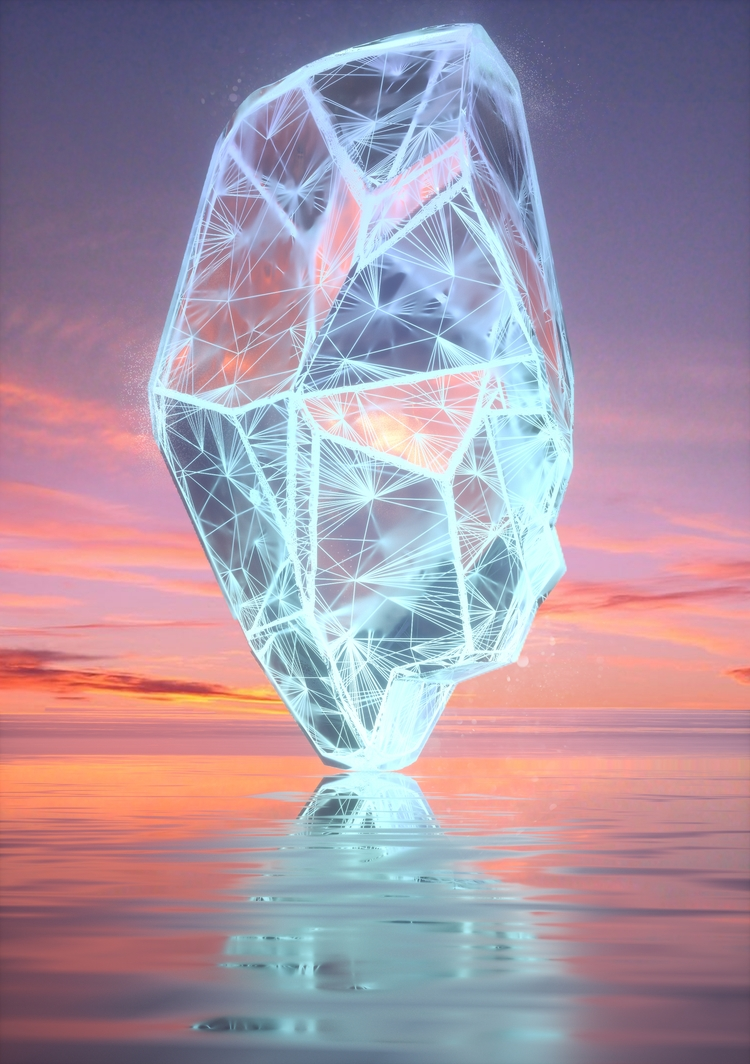 love idea surrounded crystals,  - fvckrender | ello
