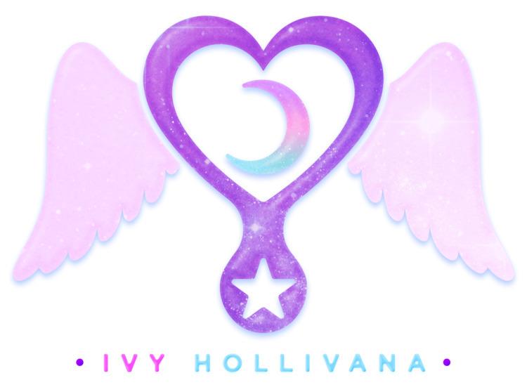 logo musician Ivy Hollivana - vertexx   ello