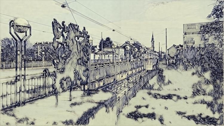 Schönaubrücke Graz Österreich.  - marcstipsits | ello