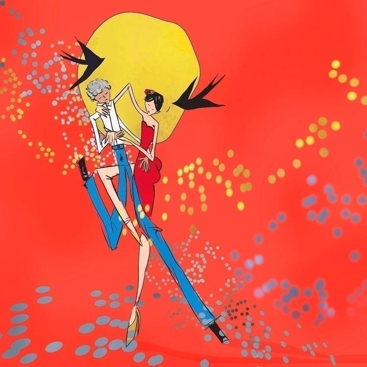Illustration Summer digital ill - anaandroska   ello