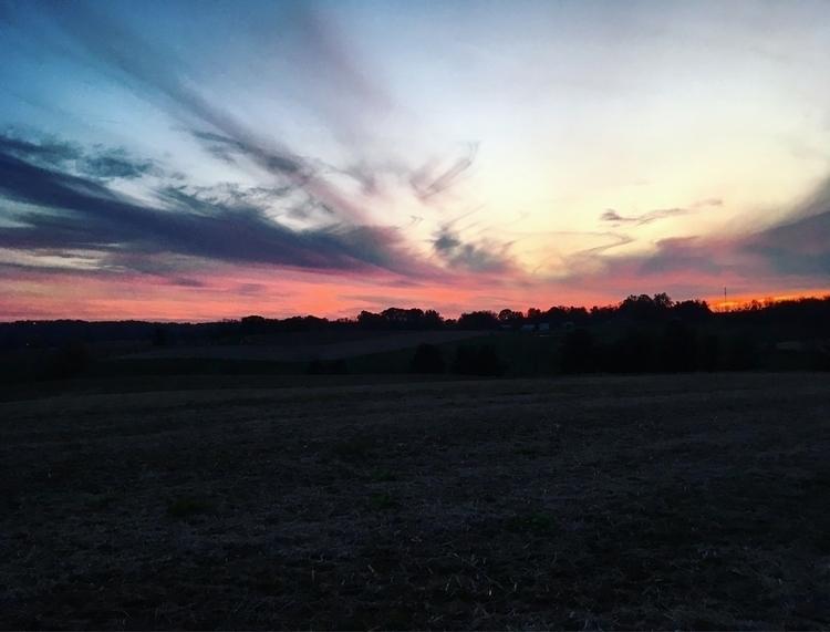 Fall - nature, sunset, farmlife - mermaidtearshawaii | ello