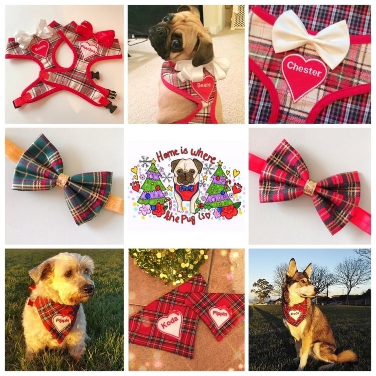 Christmas tartan ready shop - christmasy - homeiswherethepugis | ello