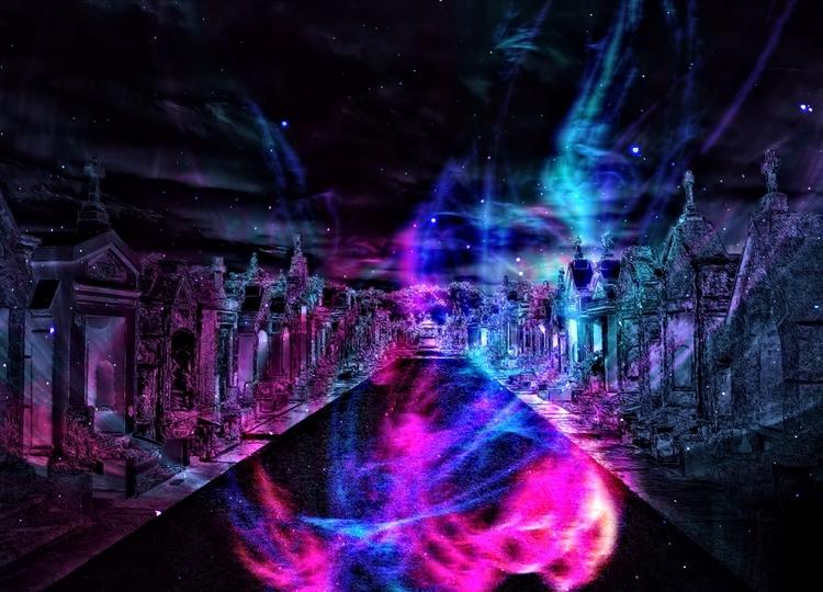 Life Eyes Spirits - dead, alive - greycrossstudios | ello