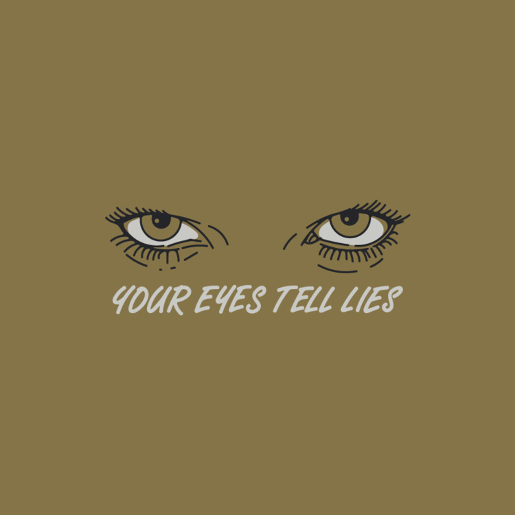 lies, illustration, eyes, lettering - patrick_de_nobrega | ello