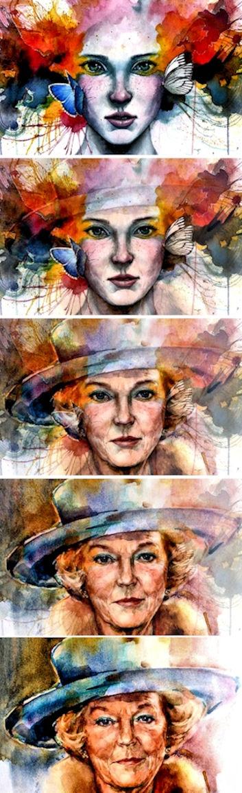 Watercolor Morphing. Film: Site - drakre52 | ello