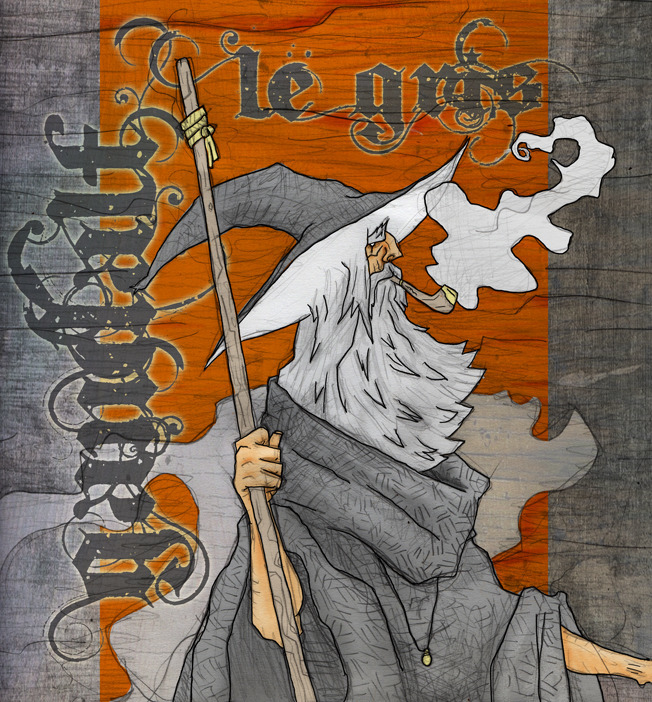 Gandalf le Gris - gandalf, tolkien - afornerot | ello
