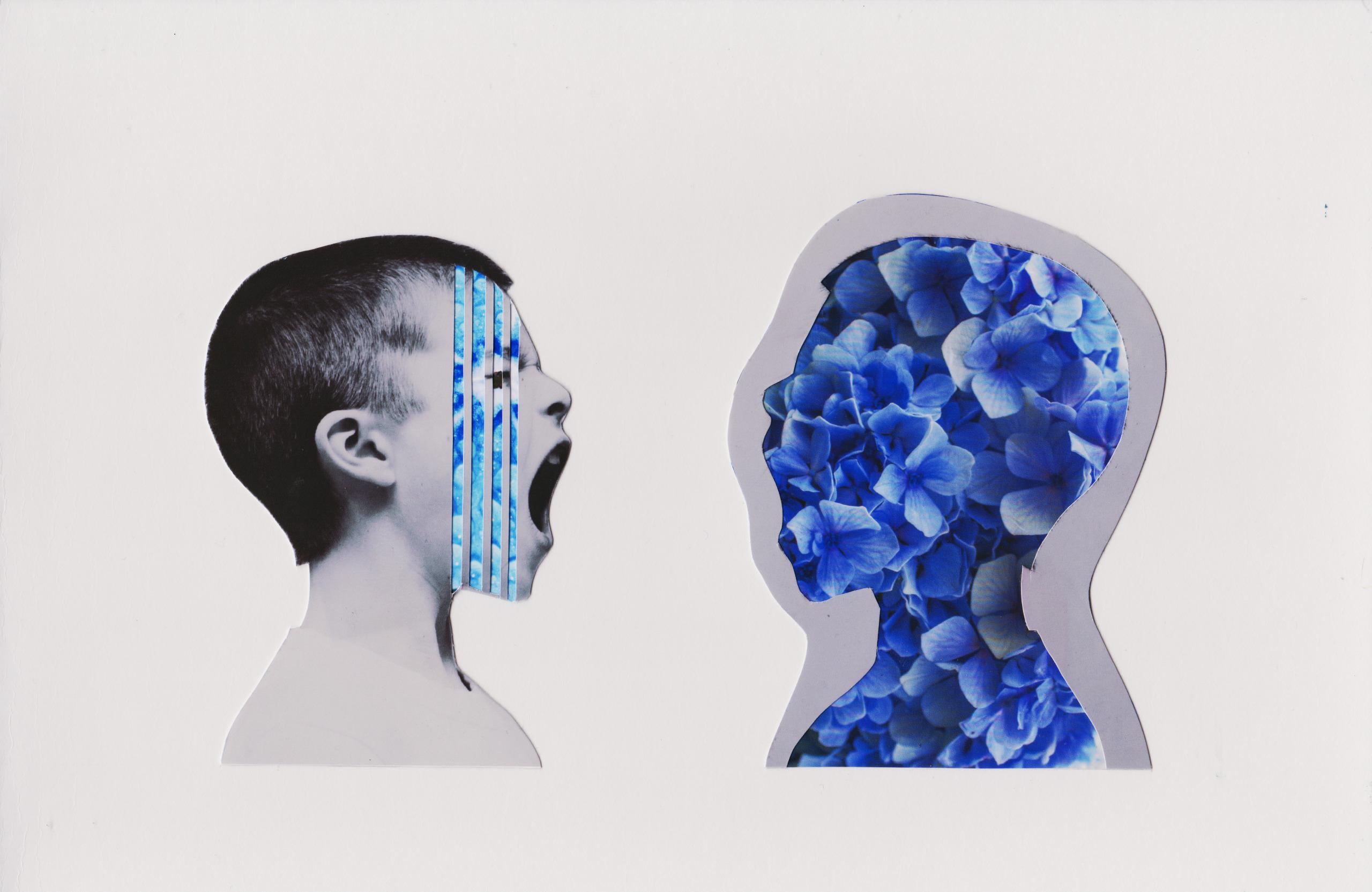 Reflexo - Collage, Analogue, Colagem - marianabastoscollage | ello