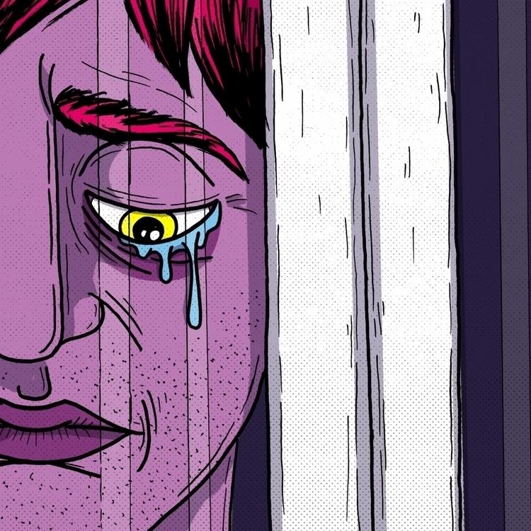 – Tears princess pain - illustration - thomasgaraventa | ello