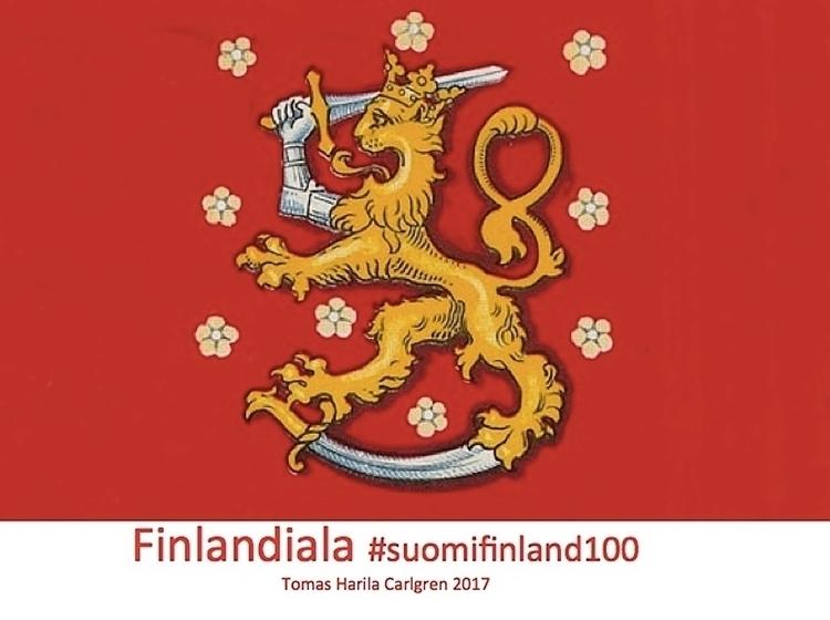 Finlandiala. Formgivning Finlan - tomasstein   ello