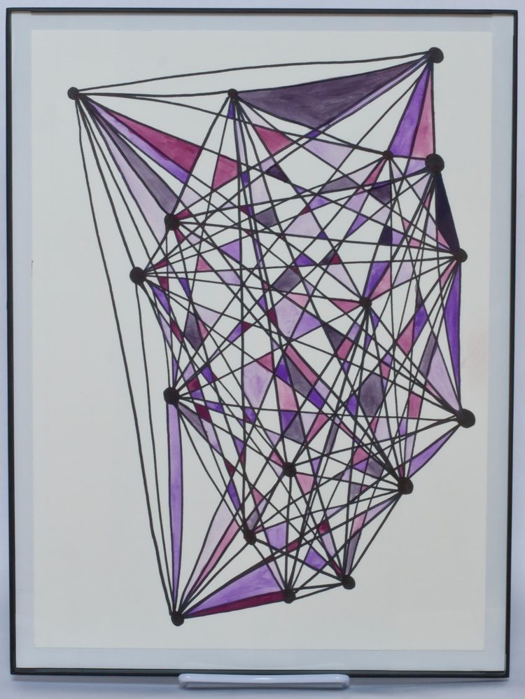 Brainstorming / Purple Watercol - sarahthebeanstalk | ello