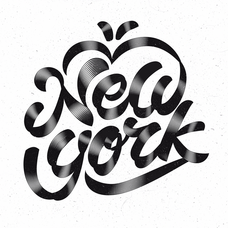 York - design, type, typography - anibalgarcia | ello