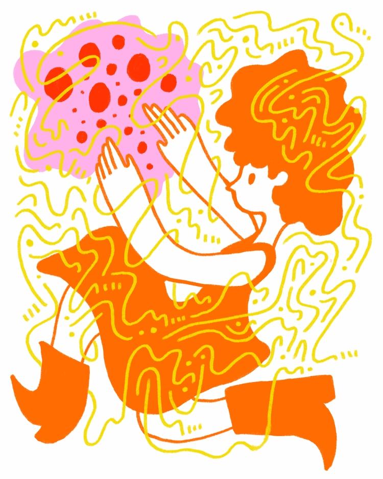 Run Catch - illustration, illustrator - heybop   ello