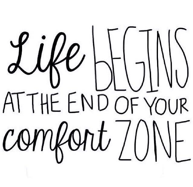 Life begins comfort zone - besomebody - esquirephotography | ello