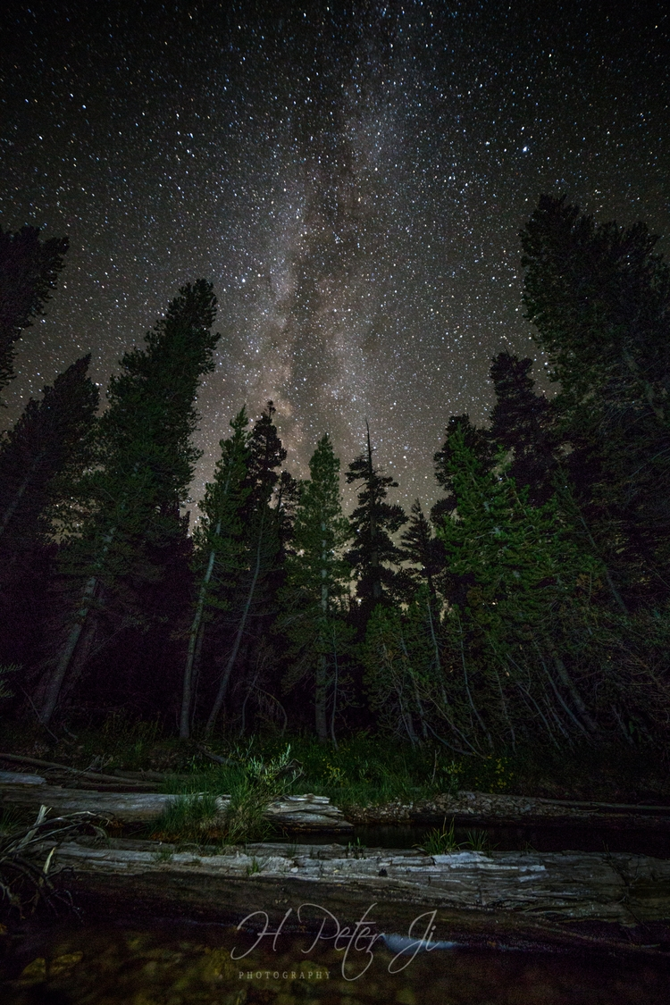 Andromeda Galaxy night Rae Lake - scorpioonsup | ello