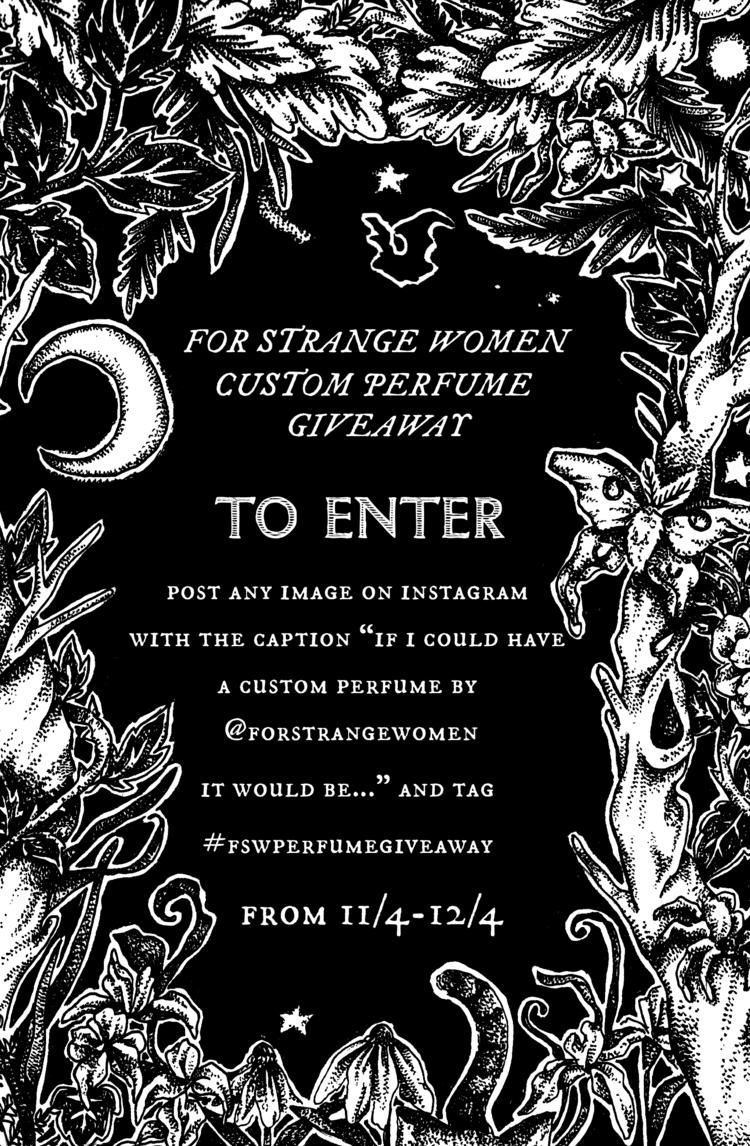 Strange Women hosting giveaway  - forstrangewomen | ello
