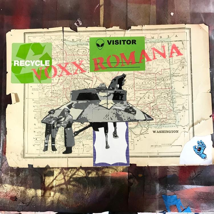 Foo Fighters stencil Washington - voxxromana | ello