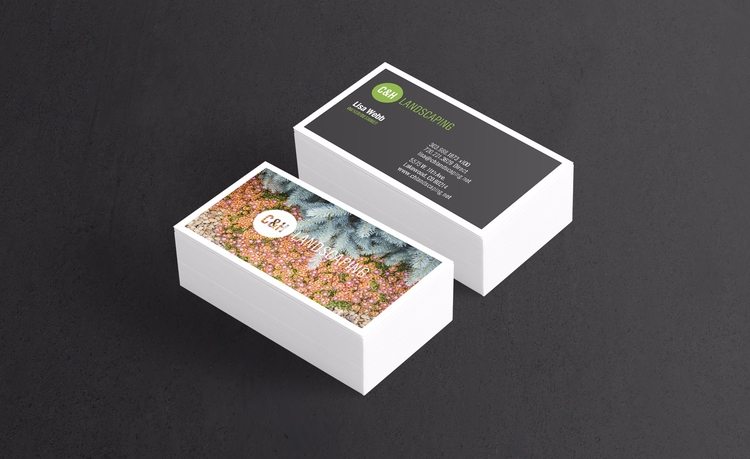 CH Landscaping Business Card De - markjw | ello