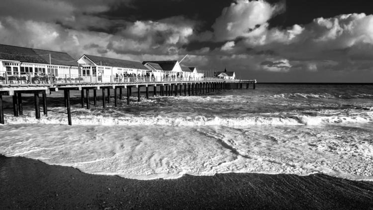 seascape: Southwold Pier - 2, photography - davidhawkinsweeks | ello
