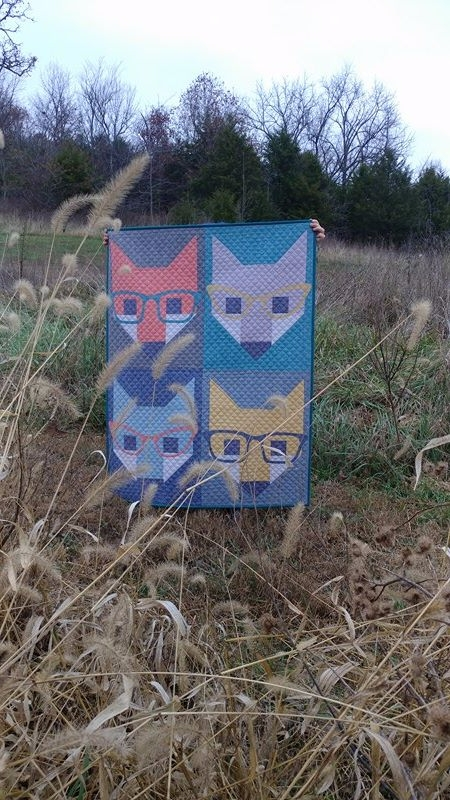 foxes surprise unsuspecting opt - sliceofpiquilts | ello