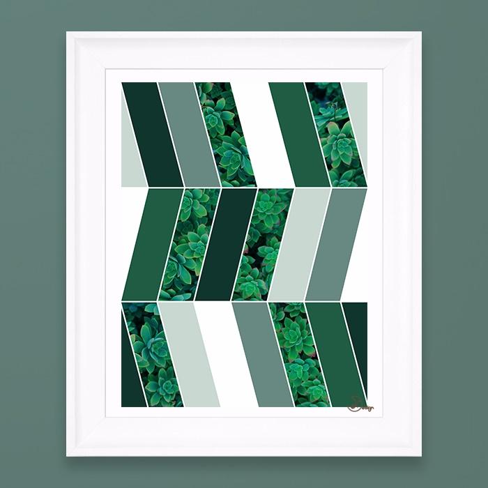 Green Herringbone Elegant herri - designdn | ello