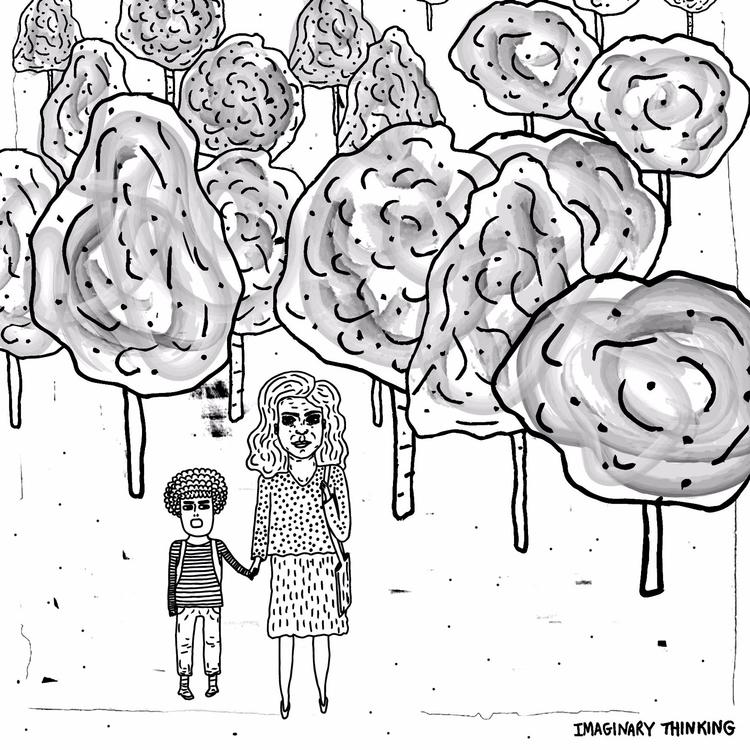 sample job summer - illustration - imaginarythinking   ello