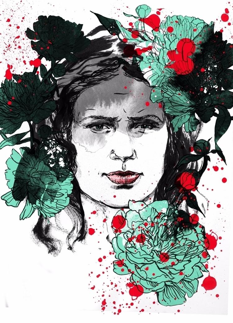 ello, ellonew, illustration, portrait - kristina_skoreva | ello