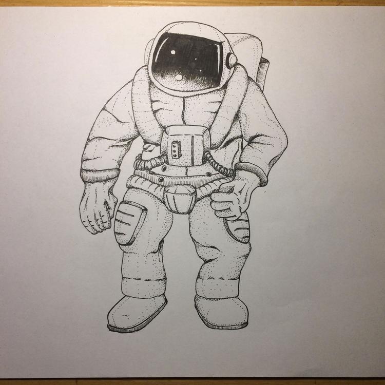 15 minute drawing 14 365 - dots - massimorinaldi27 | ello
