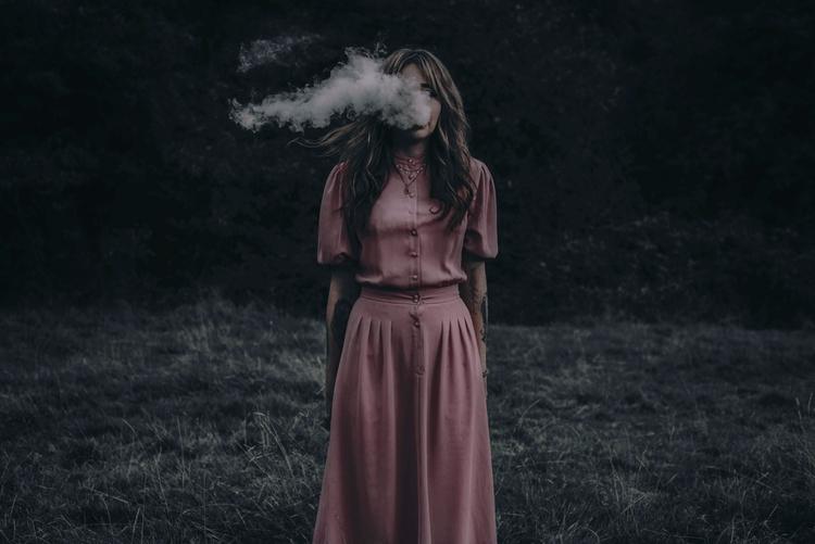 """Fire Soul"" — Photographer: Luc - darkbeautymag | ello"