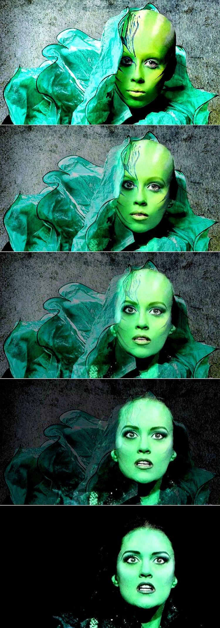 Green Morphing. Film: Page - drakre52 | ello