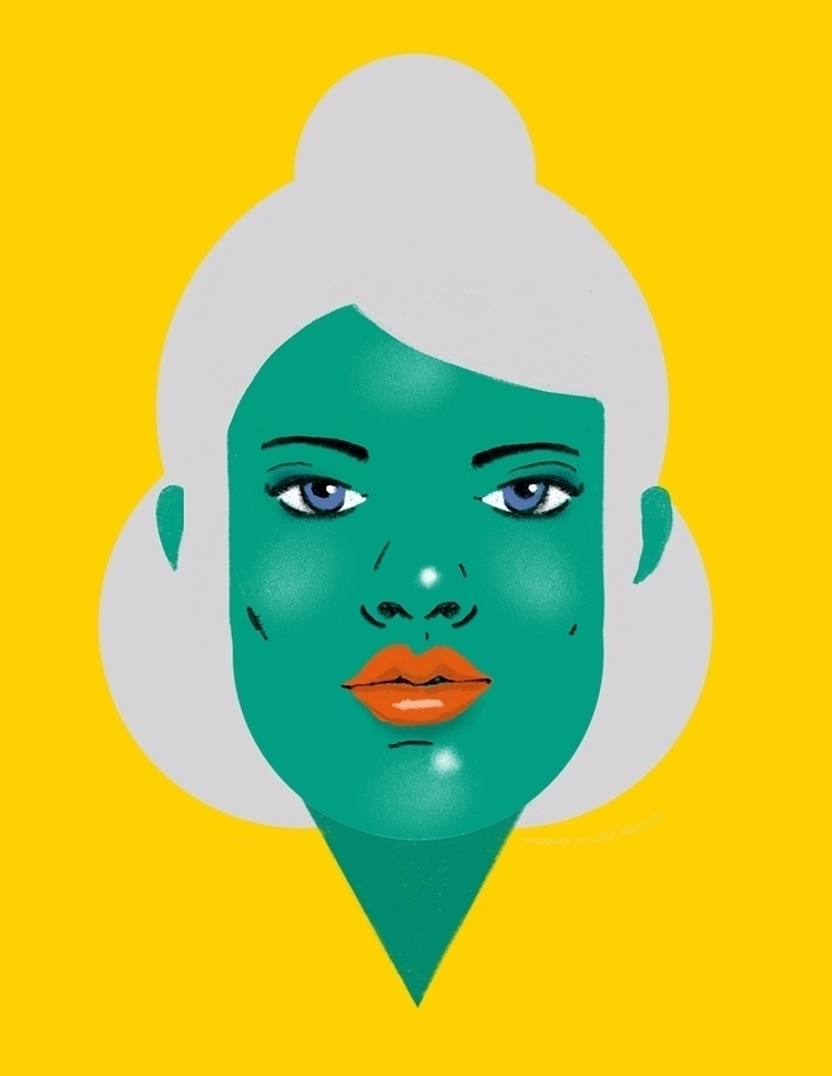 Ramona, allergic kiwi human emo - daniel_triendl | ello