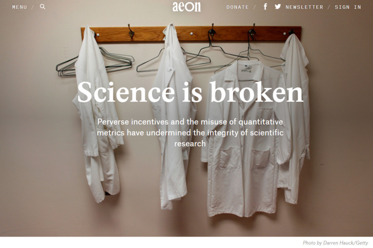 Aeon magazine: [**Science Broke - ferdiz | ello