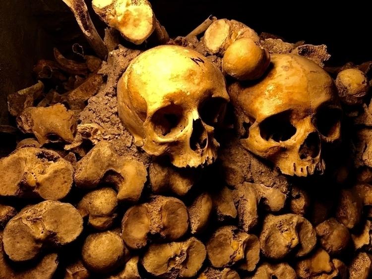 Death Catacombes, Paris - sablazard | ello