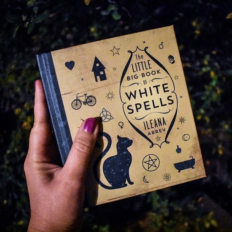 shop: Big Book White Spells  - witch - helloviolet | ello