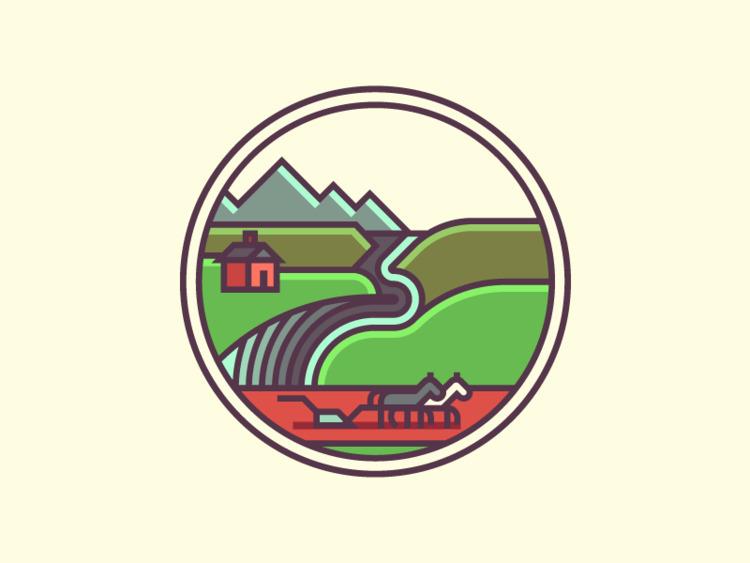 South Dakota Crest (262/365 - darumacreative | ello